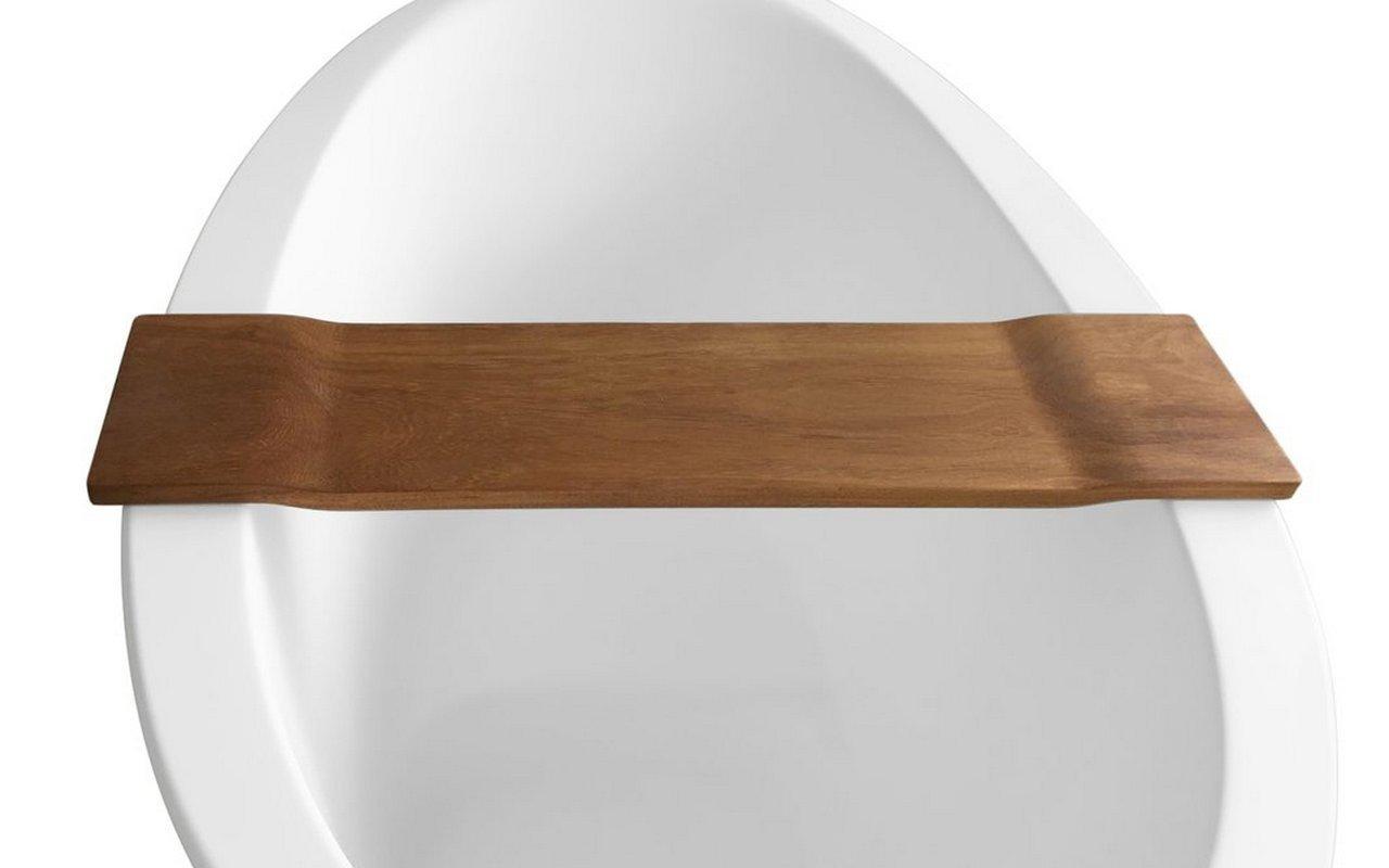 أكواتيكا تيدال، طاولة حوض أستحمام من خشب الإيروكو، مضادة للماء picture № 0