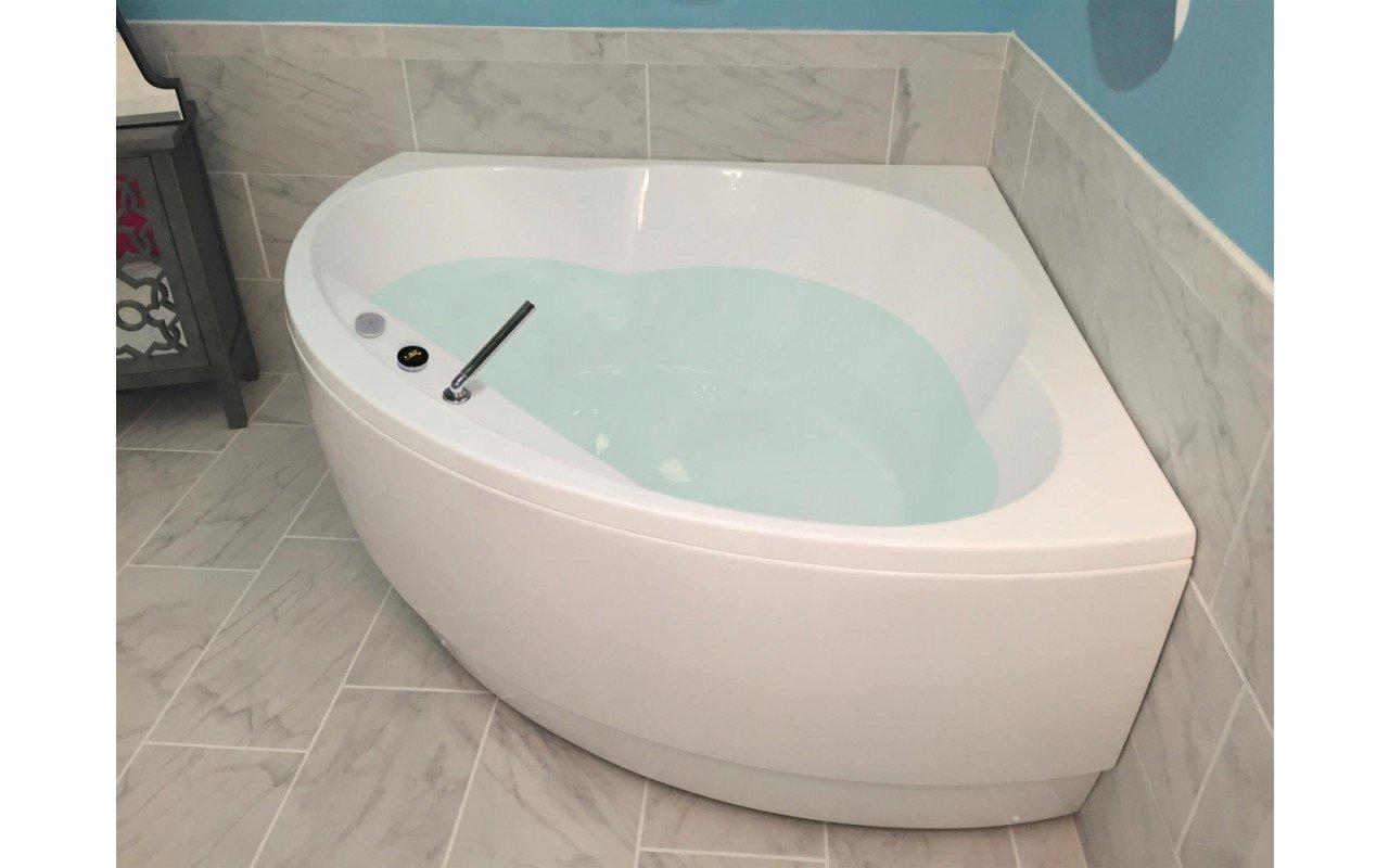 أكواتيكا كليوباترا - حوض أستحمام أبيض الزوايا من مادة الأكريلك picture № 0