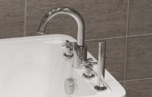 Deck-mounted faucets picture № 6